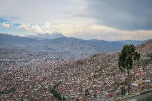 La Paz Titikakasee Aussicht