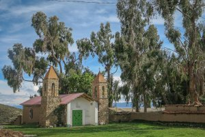 La Paz Titikakasee Isla del Sol Kirche
