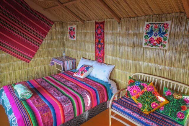 La Paz Titikakasee Uros Titikaka Lodge Zimmer