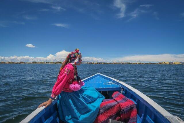 La Paz Titikakasee Bootsfahrt
