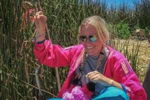 La Paz Titikakasee Uros Inseln Fischen