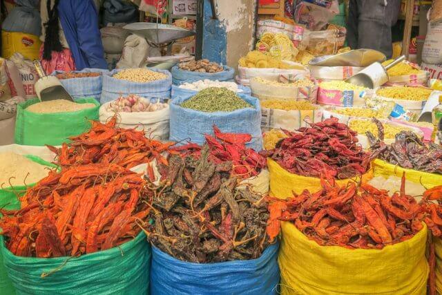 La Paz Titikakasee Markt