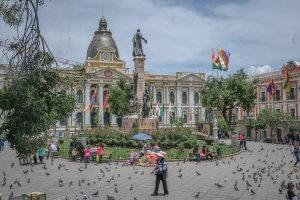 La Paz Titikakasee Regierungsgebäude