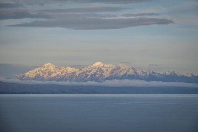 La Paz Titikakasee Isla del Sol Berge