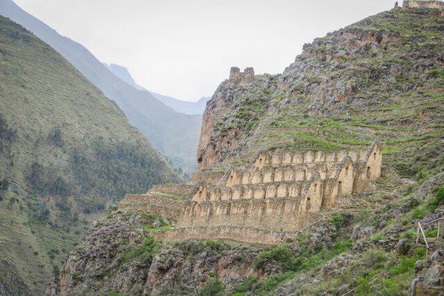Lares Trek_Machu Picchu_Peru Ollantaytambo Ruinen