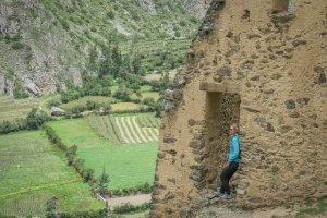 Lares Trek_Machu Picchu_Peru Ollantaytambo Ruinen Inkas