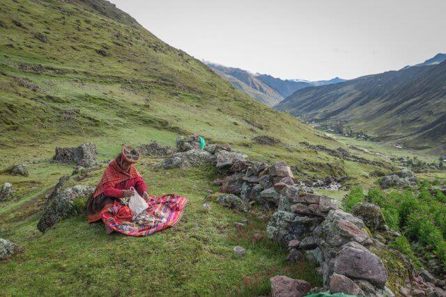 Lares Trek_Machu Picchu_Peru Menschen Anden