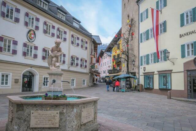 Zell am See-Kaprun Oesterreich Innenstadt