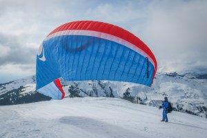 Zell am See-Kaprun Oesterreich Paragliding Schmittenhöhe