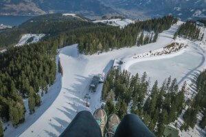 Zell am See-Kaprun Oesterreich Paragliding Aussicht