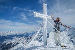 Zell am See-Kaprun Oesterreich Kitzsteinhorn Gipfel