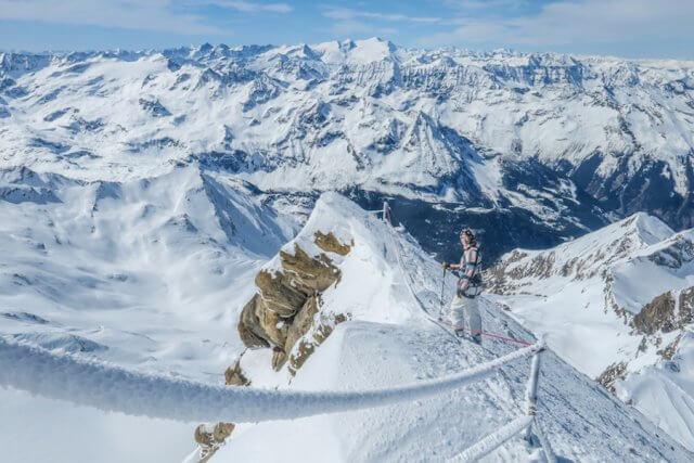 Zell am See-Kaprun Oesterreich Kitzsteinhorn Besteigung Aussicht