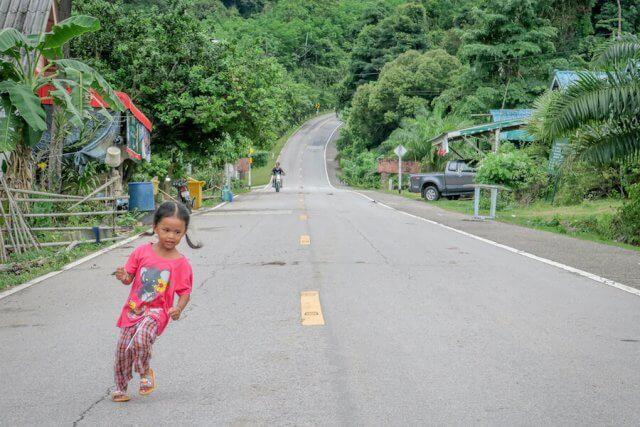 Phang Nga Thailand Talaenok Dorf
