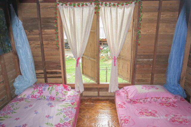 Phang Nga Thailand Homestay Schlafzimmer