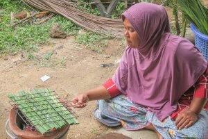 Phang Nga Thailand Homestay kochen Talaenok Dorf