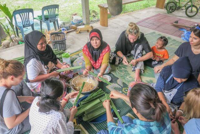 Phang Nga Thailand Homestay Talaenok kochen