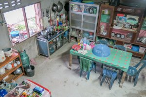 Phang Nga Thailand Homestay Küche Talaenok