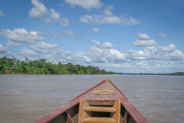 Puerto Maldonado Dschungel Peru Lima Anreise Boot