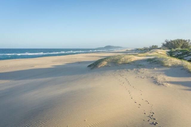 Suedafrika St Lucia Beach Strand