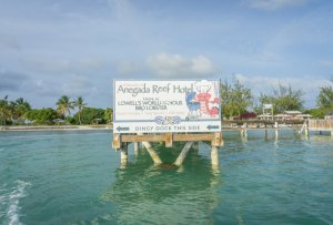 British Virgin Islands Karibik Britische Jungferninseln Anegada Reef Hotel Lobster
