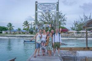 British Virgin Islands Karibik Britische Jungferninseln Anegada Reef Hotel Lobster
