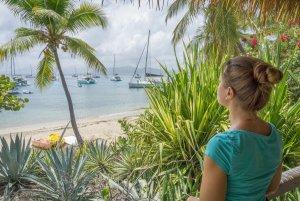 British Virgin Islands Karibik Britische Jungferninseln Cooper Island beach club