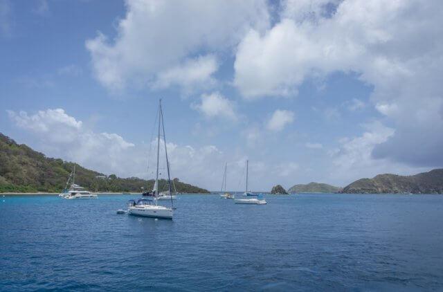 British Virgin Islands Karibik Britische Jungferninseln Segeln