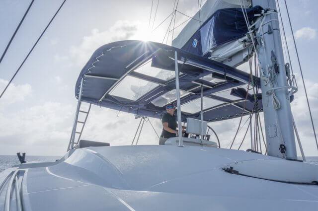 British Virgin Islands Karibik Britische Jungferninseln Segelyacht