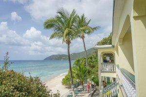 Tortola British Virgin Islands Karibik Britische Jungferninseln Tortola Sebastians at the sea