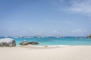 British Virgin Islands Karibik Britische Jungferninseln Virgin Gorda Beach
