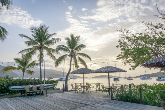 British Virgin Islands Karibik Britische Jungferninseln Virgin Gorda Bitter End Yacht Club
