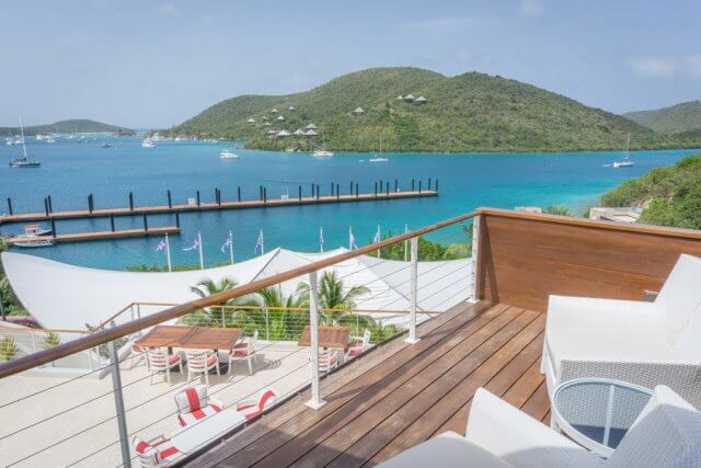 British Virgin Islands Karibik Britische Jungferninseln Virgin Gorda Costa Smeralda Beach Club
