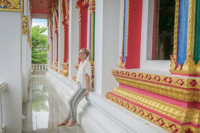 Khao Lak Thailand buddhistischer Tempel