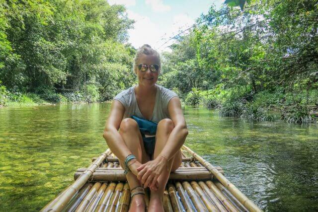 Khao Lak Thailand Bambus Rafting