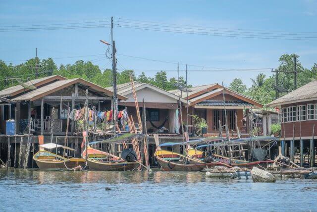 Khao Lak Thailand Eco Tour Dorfbesuch