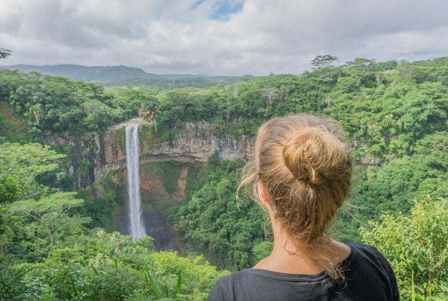 Mauritius Sehenswuerdigkeiten Chamarel Wasserfall