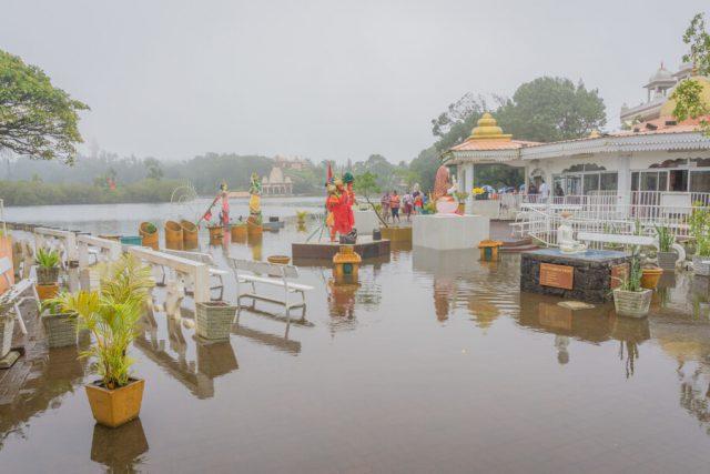 Mauritius Sehenswuerdigkeiten Hindutempel Ganga Talao