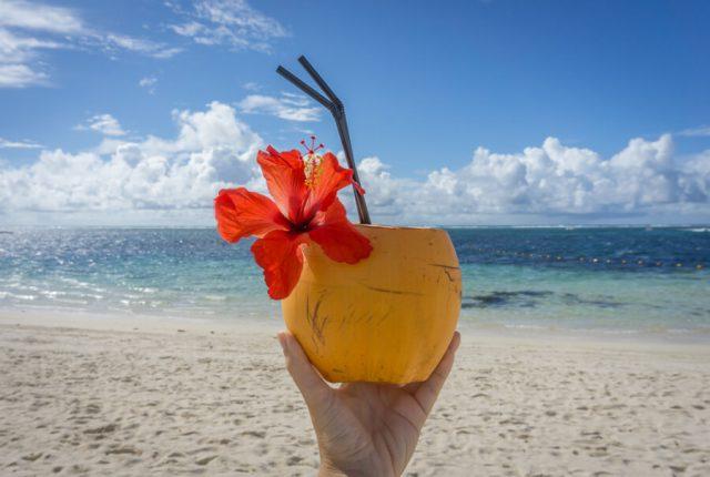 Mauritius Strand Long Beach