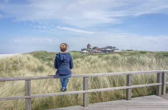 Insel Juist Nordsee Urlaub Aussicht