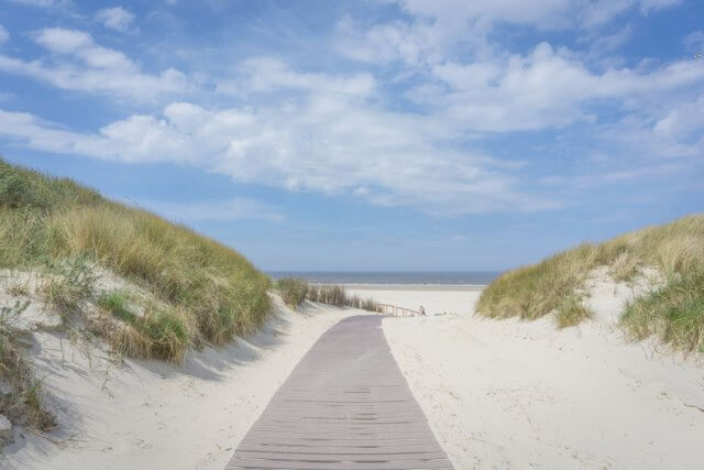 Insel Juist Nordsee Urlaub Duenen
