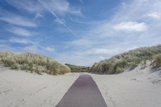 Insel Juist Nordsee Urlaub Duenenweg