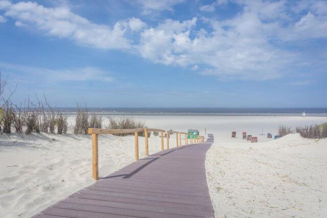 Insel Juist Nordsee Urlaub Strand
