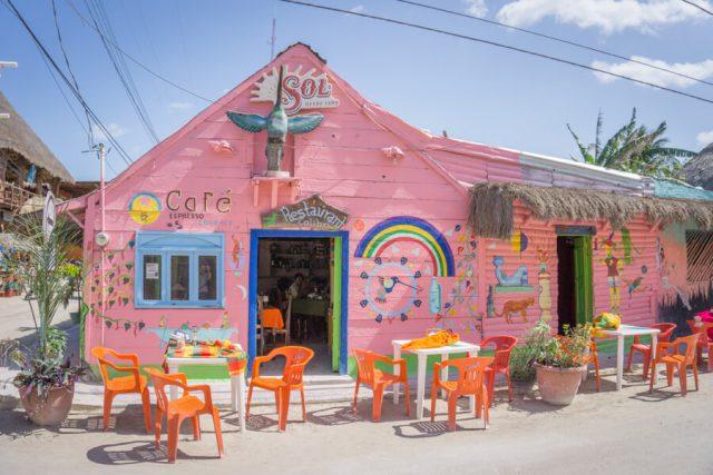 Mexiko Urlaub Rundreise Isla Holbox Cafe