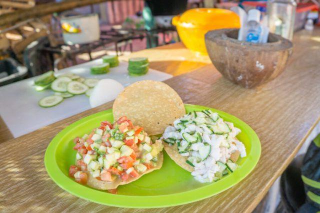 Mexiko Urlaub Rundreise Isla Holbox Ceviche