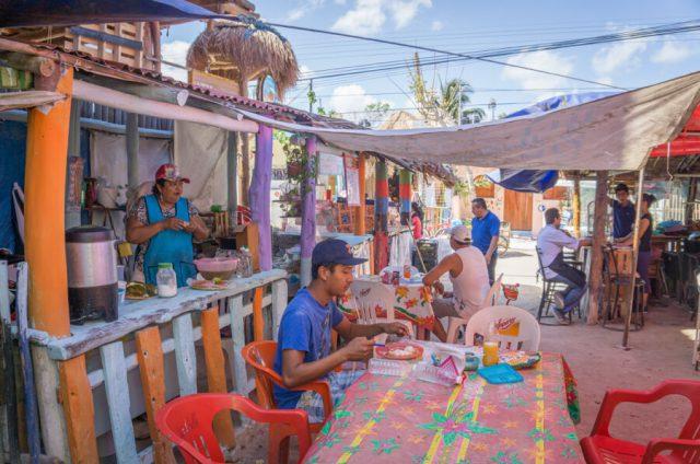 Mexiko Urlaub Rundreise Isla Holbox Markt