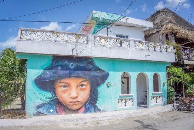 Mexiko Urlaub Rundreise Isla Holbox Streetart