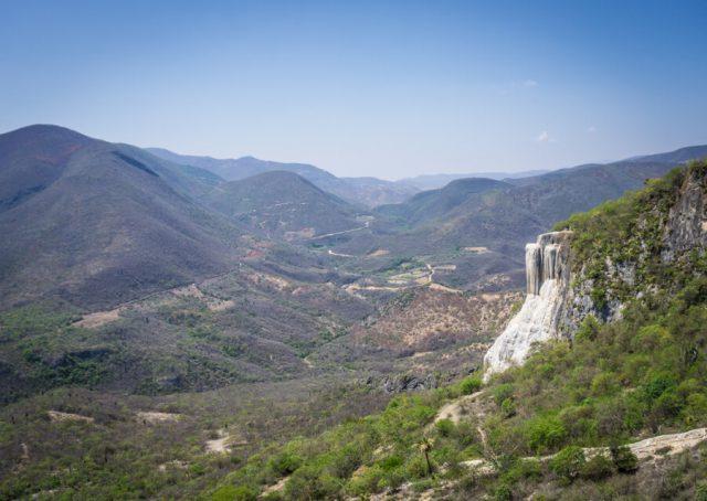Mexiko Urlaub Rundreise Oaxaca de Juarez Hierve el Agua-3