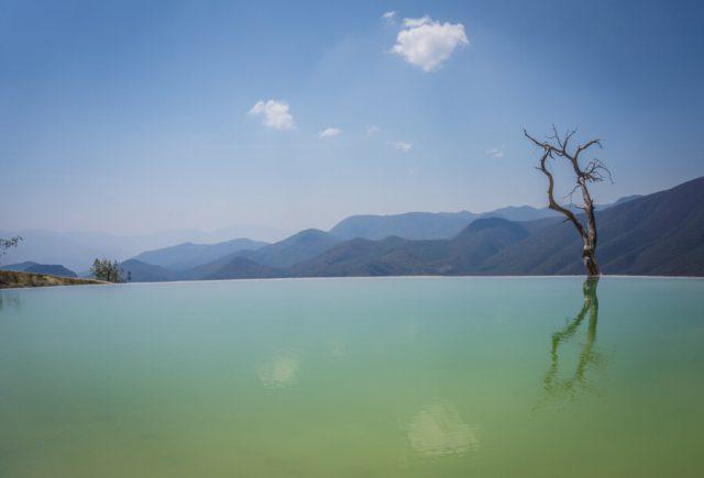 Mexiko Urlaub Rundreise Oaxaca de Juarez Hierve el Agua