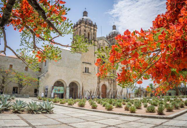 Mexiko Urlaub Rundreise Oaxaca de Juarez Kathedrale-2