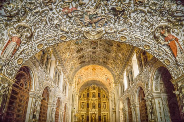 Mexiko Urlaub Rundreise Oaxaca de Juarez Kirche